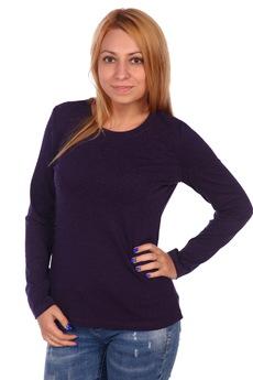 Блузка баклажанового цвета ElenaTex