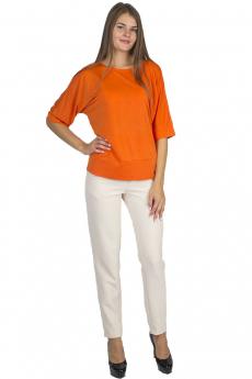 Оранжевая блузка Bast